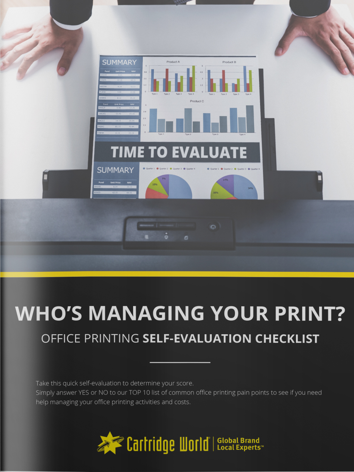 Office Printing Self-Evaluation Checklist