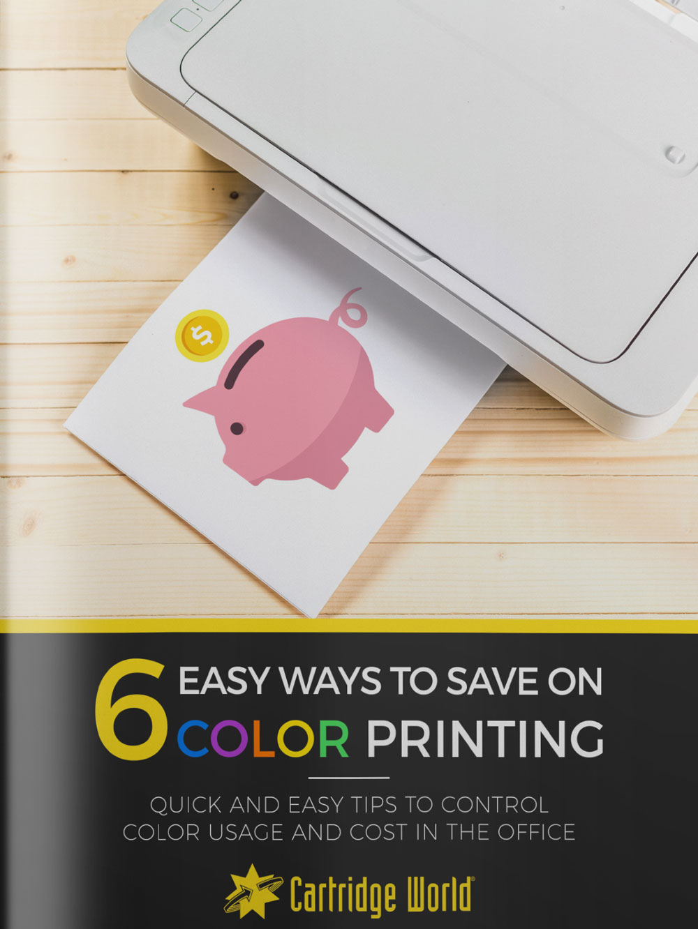 Save on Color Printing