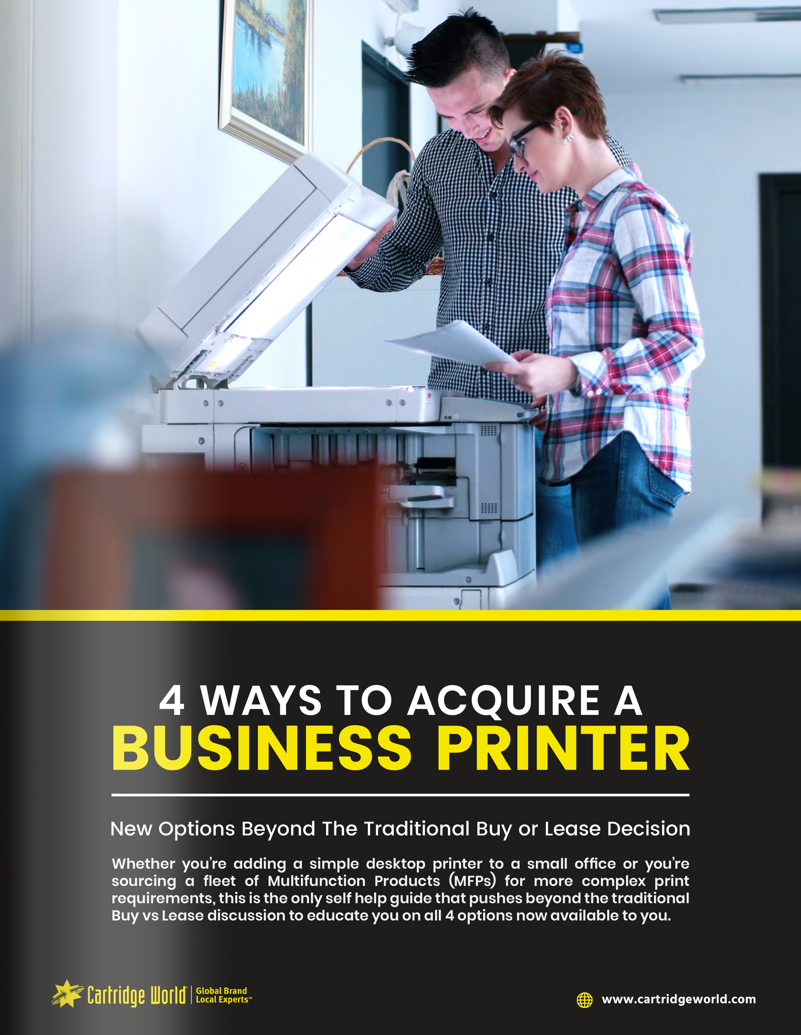4 Ways to Acquire a Business Printer