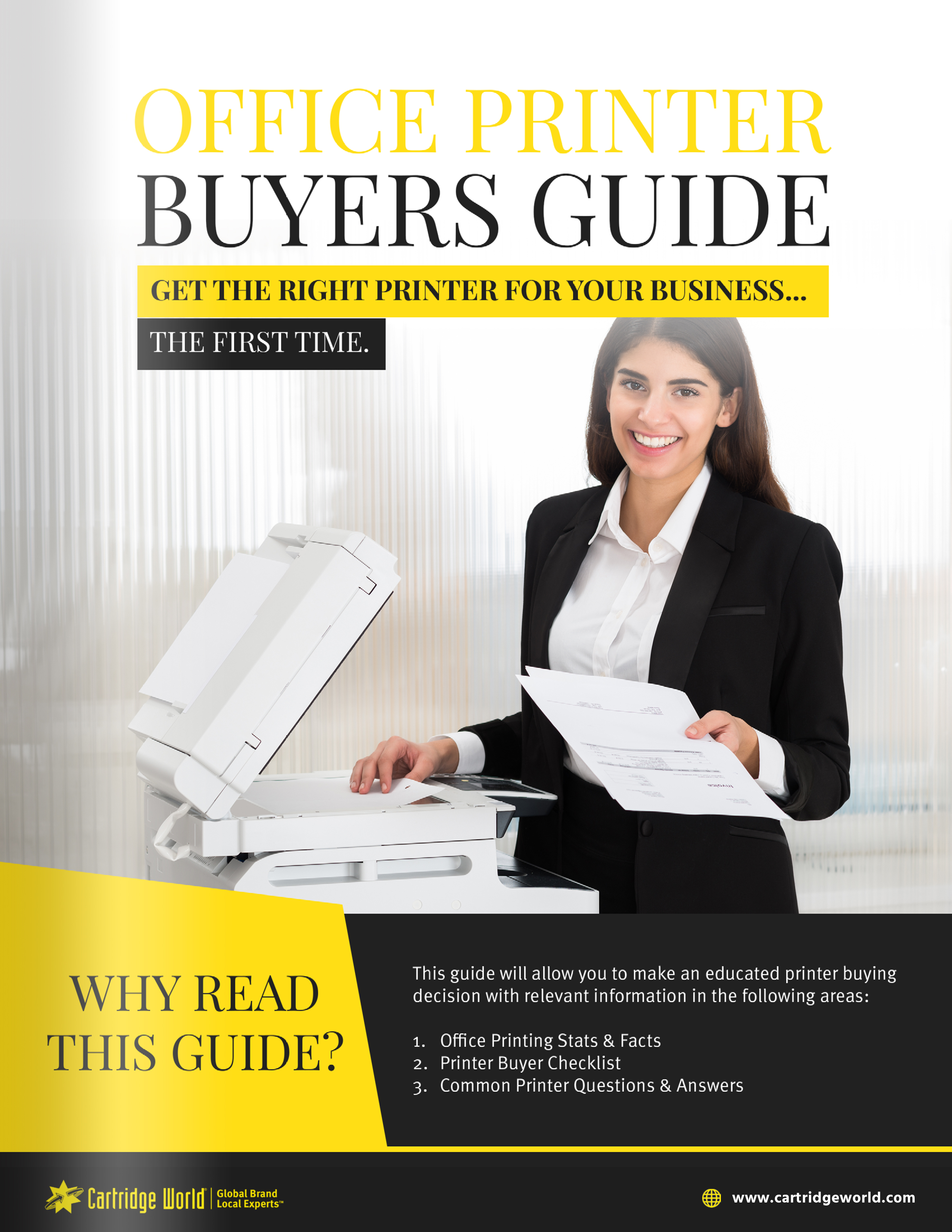 Cartridge world office printing buyers guide