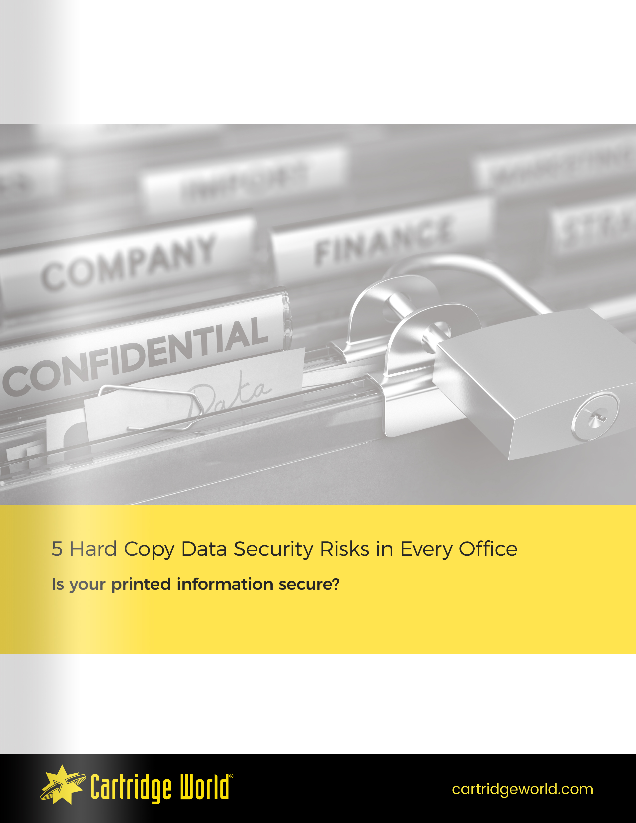 5 Hard Copy Data Security Risks in Every Office Ebook